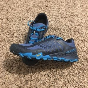 Like new, Merrell All Out Terra Ice Running Shoes